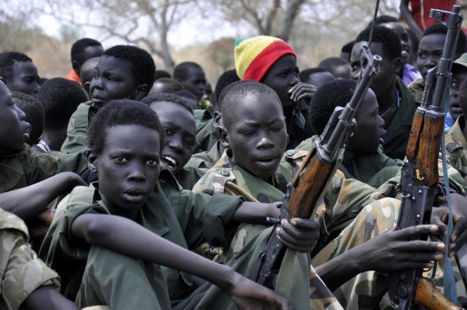 300 bambini soldato liberati in Sud Sudan